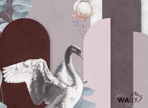 Carta da parati wallpaper Aves