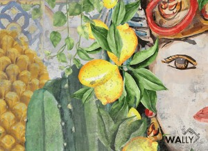 Carta da parati wallpaper La Kalsa limited edition