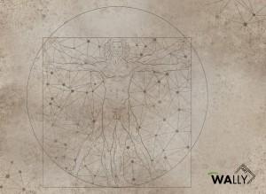 Carta da parati wallpaper Leonardo